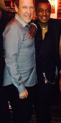 David Frank and Mic Murphy. January 9, 2014. Los Angeles, CA.